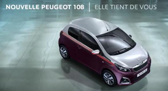 Pub Peugeot 108